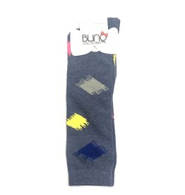 Blinq Blinq Brush Stroke Knee High Socks
