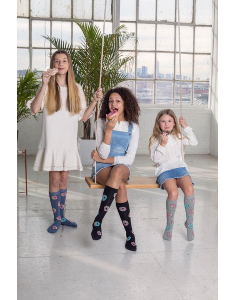 Blinq Blinq Doughnut Knee High Socks