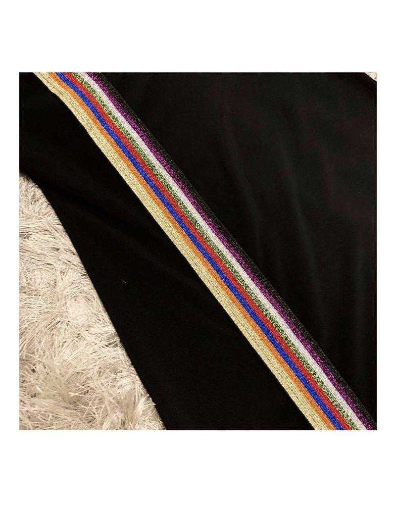 Kiki-O Cindy Girls Dress W/ Multicolor Elastic