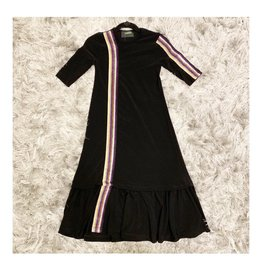 Kiki-O Cindy Girls Dress W/ Multicolor Elastic
