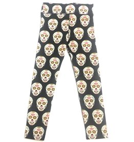 Kickee Pants Kickee Pants Print Performance Jersey Legging (Dia De Los Muertos)