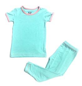 Kickee Pants Kickee Pants Solid Short Sleeve Pajama Set