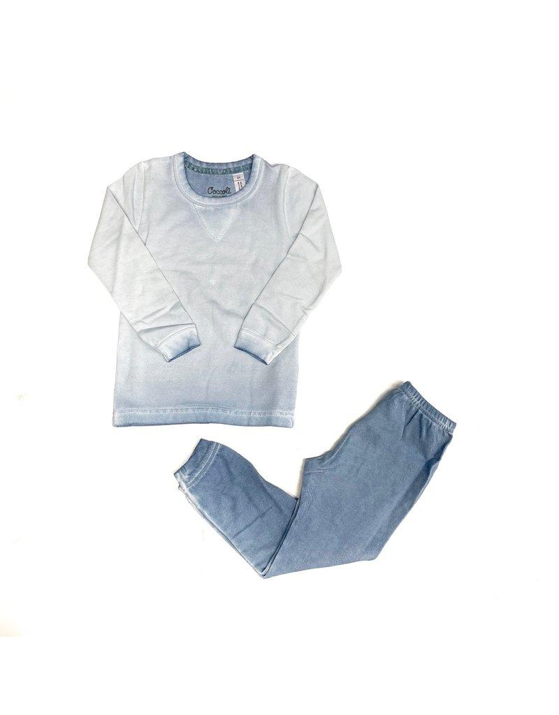 Coccoli Coccolli Solid Cotton 2pc Pajama