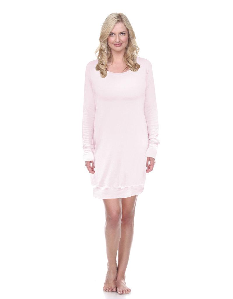PJ Harlow PJ Harlow Emily Rib Knit Long Sleeve Sleep Shirt