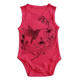 No Biggie No Biggie Hummingbird Onesie & Bloomer Set