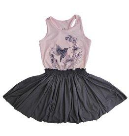 No Biggie No Biggie LuLu Dress W/ Hummingbird Print