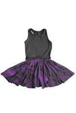 No Biggie No Biggie LuLu Dress W/ Leaves Print