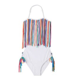 Stella Cove Stella Cove Fringe Swimsuit