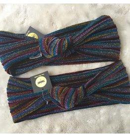 Tal Tal Glitter Rainbow Knot Band
