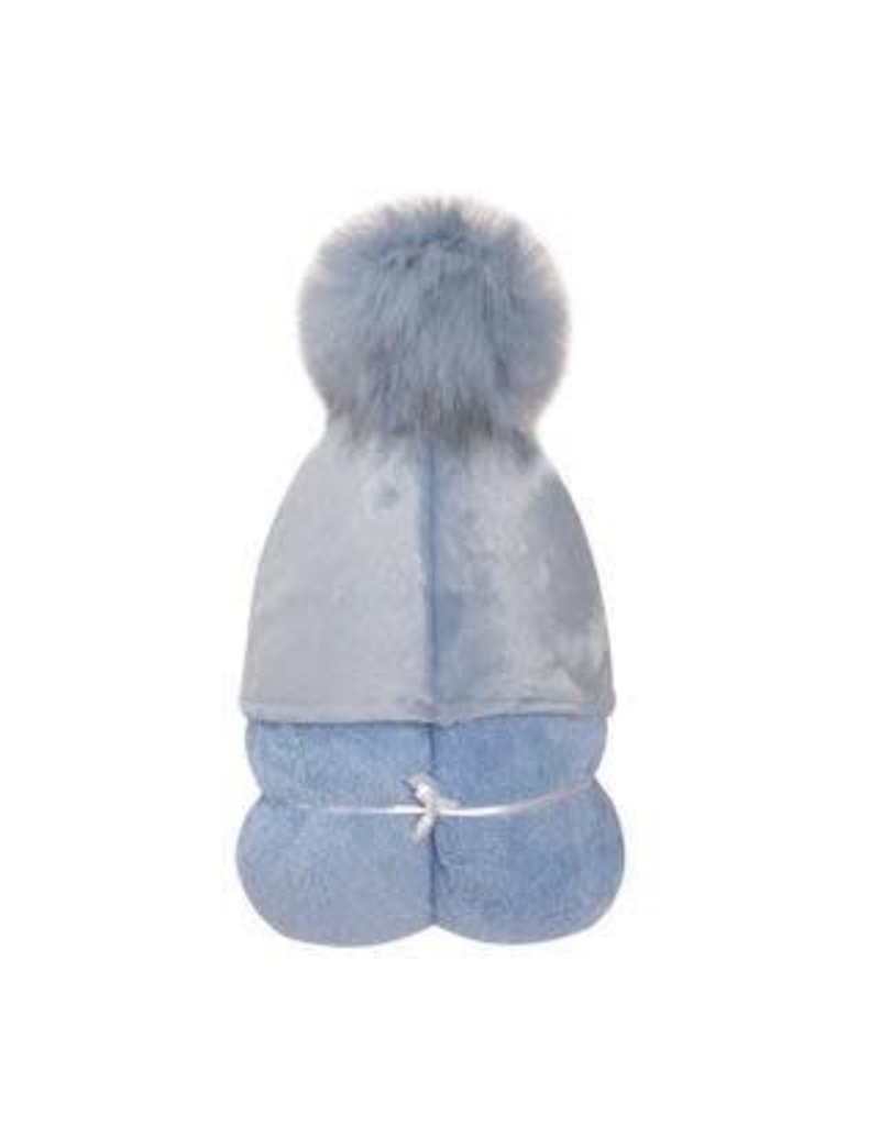 Winx + Blinx Winx & Blinx PomPom Hooded Towel Blue