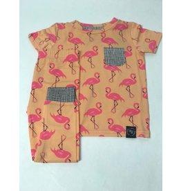 Sweet Bamboo Sweet Bamboo Flamingo PJ W/ Pocket
