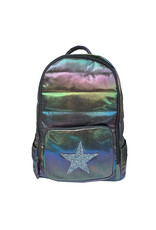 Bari Lynn Bari Lynn Galaxy Puffy Backpack with Crystal Design