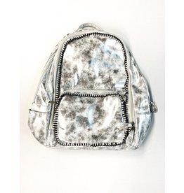 Bari Lynn Bari Lynn Distressed Chain Mini Backpack