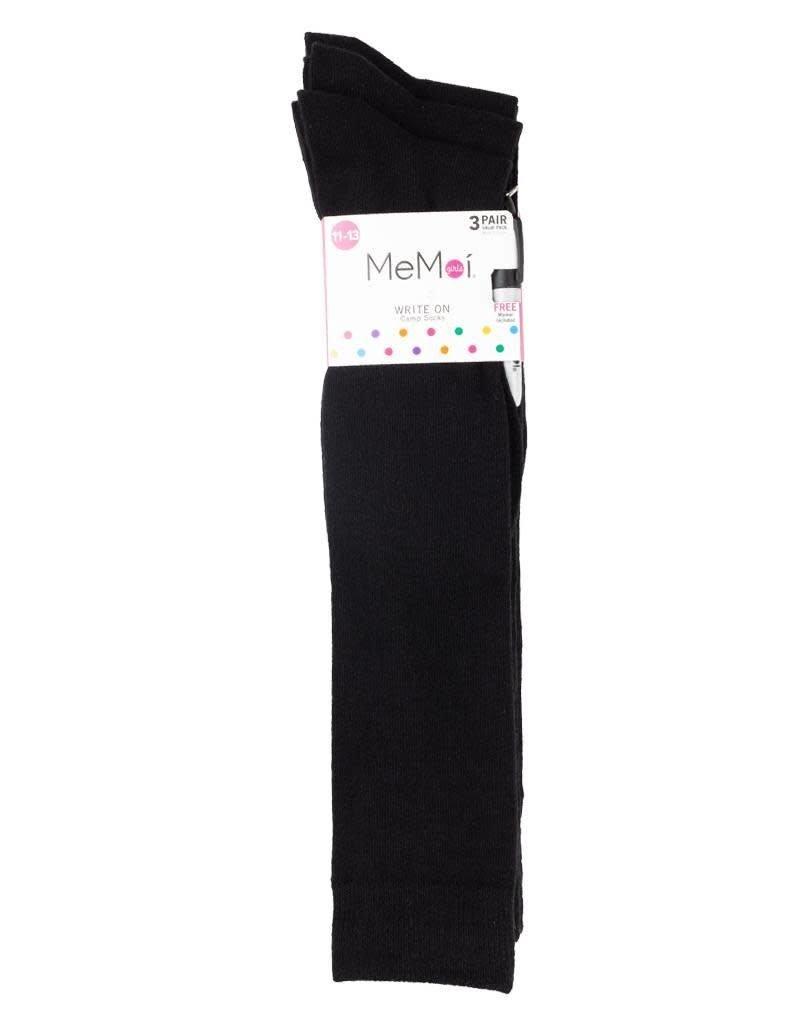 Memoi Memoi Girls Pen Sock 3 Pair Pack