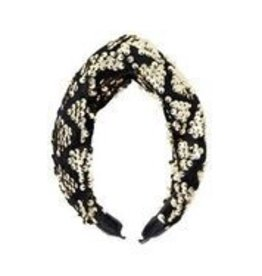 Bandeau Bandeau Sequin Twist Headband Gold