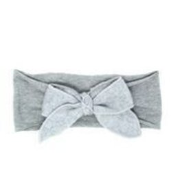 Bandeau Bandeau Wool Bow Baby Band Light Gray Small