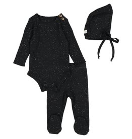 lil legs Lil Legs Infant Speckle Ribbed Set