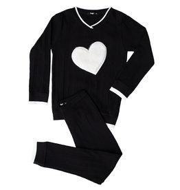 Noggi Noggi Vee Puffy Heart Lounge Wear Set