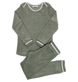 Coco Blanc Coco Blanc Velour Pajama