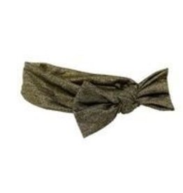 Bandeau Bandeau Classic Glitter Bow Baby Band  Gold S
