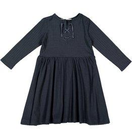 Teela Teela Rib Drawstring Dress