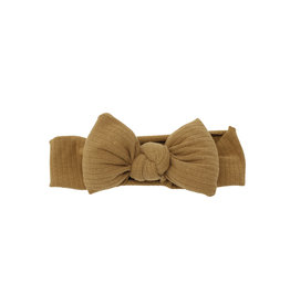 Bandeau Bandeau Ribbed Puffed Bow Baby Band