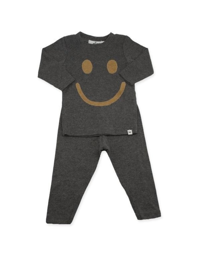oh baby! Oh Baby Smiley Tan Set Charcoal