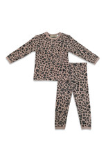 Kiki-O Little Paw Quilted Leopard 2PC Set