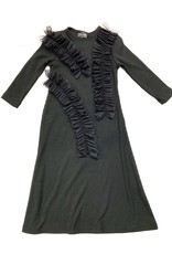Kiki-O Sofia Dress W/ Mesh Ruffles