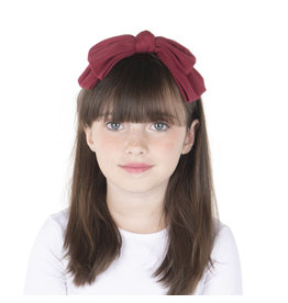 DaCee Dacee Wide Ribbed Bow Headband