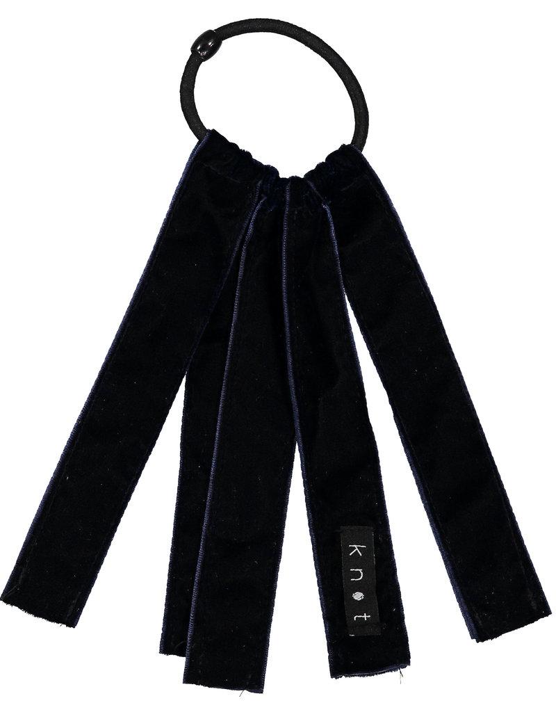 Knot Knot Velvet Ribbon Hair Tie