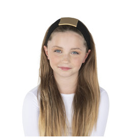 DaCee Dacee Leather Center Headband