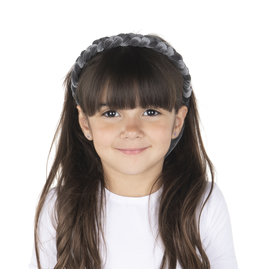 DaCee Dacee Velvet Braid Headband