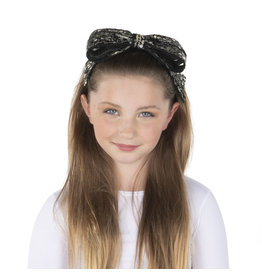DaCee Dacee Sequin Bow Headband