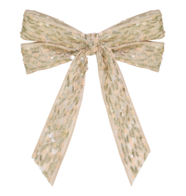 DaCee Dacee Sequin Bow Clip