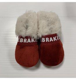Zeebra Zeebra Scarlet Zeebrakids Fur Slipper
