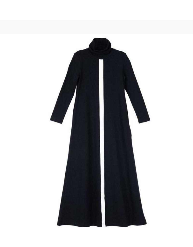 Froo Froo Leather Trim Maxi