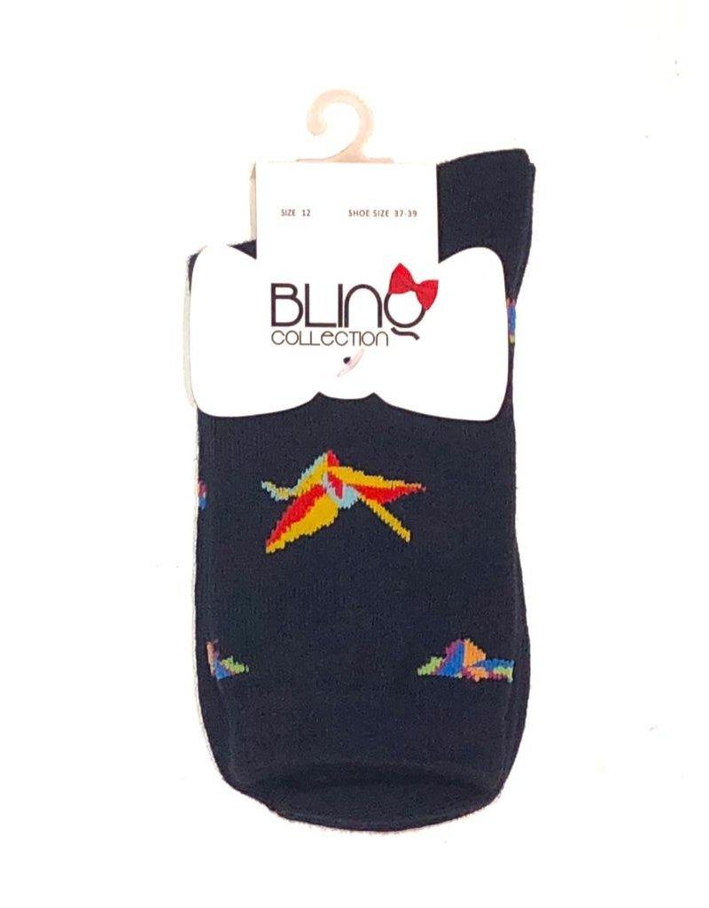 Blinq Blinq Crane Socks