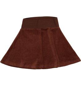Coco Blanc Coco Blanc Velour Skirt