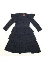 Kiki-O 365 Long Dress W/ Cape Sleeve Top