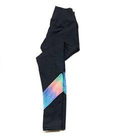 Sofi Sofi Legging w/ Tie Dye Mesh