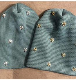 Best Beanies Best Beanies x ES Luxe Star Thick Knit Beanie