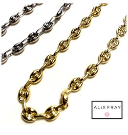 Alix Fray Alix Fray Horse Bit Chain Necklace