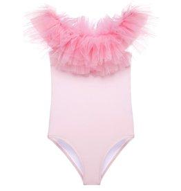 Stella Cove Stella Cove Pink Tulle Swimsuit