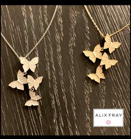 Alix Fray Alix Fray Multi Butterfly Necklace