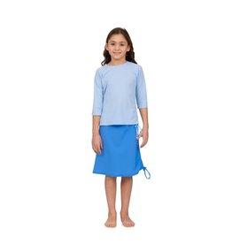 Undercover Waterwear Undercover Waterwear Kids Light Blue Rouche 2 Piece Swimwear