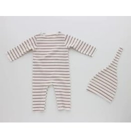 Hatch'd Hatchd Stripe Romper Set B-17/B-18