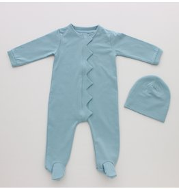 Hatch'd Hatchd Scallop Romper Set B-09/B-10