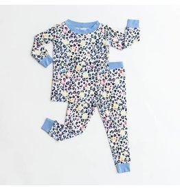Little Sleepies Little Sleepies Leopard Love Two-Piece Bamboo Viscose Pajama Set