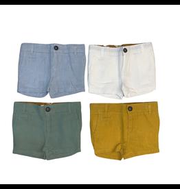 Coco Blanc Coco Blanc Linen Shorts